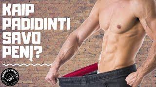 kodėl varpa minkšta su erekcija? kokie produktai padidina nario dydi